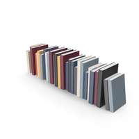 Stack of Books with Colorful Cover PNG & PSD Images