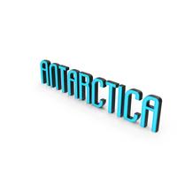 Antartica Text PNG & PSD Images