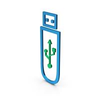 Symbol USB Flash PNG & PSD Images