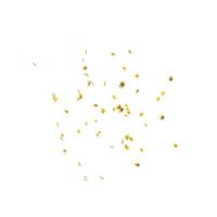 Golden Stars Rain Falling PNG & PSD Images