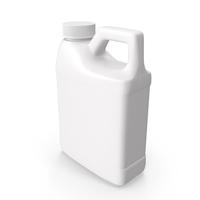 Plastic F Style Bottle 16oz PNG & PSD Images