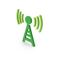 Symbol Antenna Green PNG & PSD Images