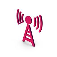 Symbol Antenna Metallic PNG & PSD Images