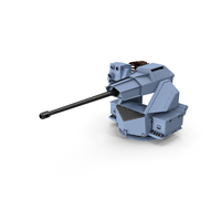 Aselsan 30mm Smash Gun PNG & PSD Images