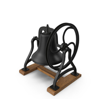 Cast Iron Bell PNG & PSD Images