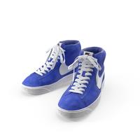 Nike Mid Blazer Blue PNG & PSD Images