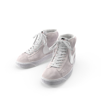 Nike Mid Blazer Grey PNG & PSD Images