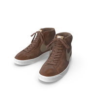 Nike Mid Blazer Brown PNG & PSD Images