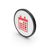 Icon Calendar Red PNG & PSD Images