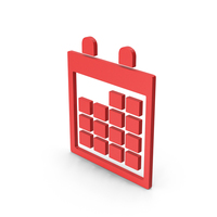 Symbol Calendar Red PNG & PSD Images