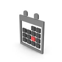 Symbol Calendar Gray PNG & PSD Images