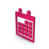 Symbol Calendar Metallic PNG & PSD Images
