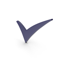 Check Mark Dark Blue PNG & PSD Images