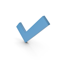 Check Mark Blue PNG & PSD Images