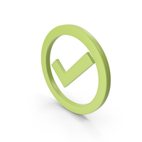 Check Mark Light Green PNG & PSD Images