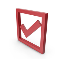 Check Mark Red PNG & PSD Images