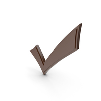 Check Mark Brown PNG & PSD Images