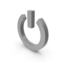 Power Icon Grey PNG & PSD Images