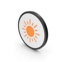Icon Sun Orange PNG & PSD Images