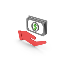 Symbol Banknotes In Hand PNG & PSD Images