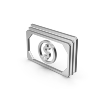 Symbol Banknotes Silver PNG & PSD Images