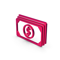 Symbol Banknotes Metallic PNG & PSD Images