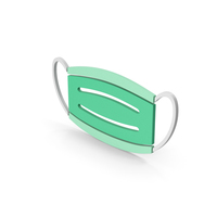 Symbol Virus Mask Green PNG & PSD Images