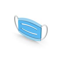 Symbol Virus Mask Blue PNG & PSD Images