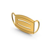Symbol Virus Mask Gold PNG & PSD Images