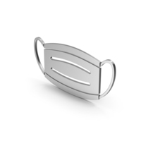 Symbol Virus Mask Silver PNG & PSD Images