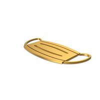 Gold Symbol Virus Mask PNG & PSD Images