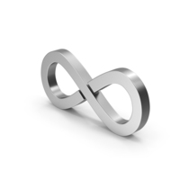 Symbol Infinity Silver PNG & PSD Images