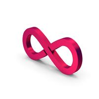 Symbol Infinity Metallic PNG & PSD Images
