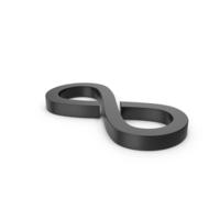 Black Symbol Infinity PNG & PSD Images