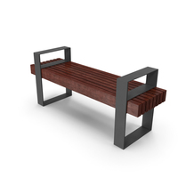 Bench Cherry Wood PNG & PSD Images