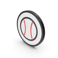 Icon Baseball Red PNG & PSD Images