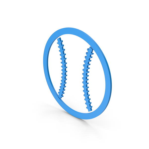 Symbol Baseball Blue PNG & PSD Images