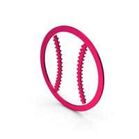 Symbol Baseball Metallic PNG & PSD Images