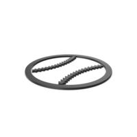 Black Symbol Baseball PNG & PSD Images