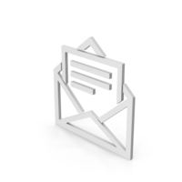 Symbol Letter With Paper PNG & PSD Images