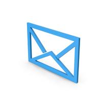 Symbol Letter Envelope Blue PNG & PSD Images