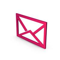 Symbol Envelope Metallic PNG & PSD Images
