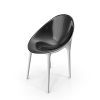 Kartell Mr. Impossible Chair PNG & PSD Images