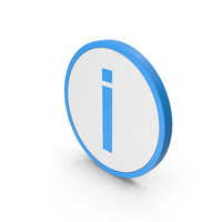 Icon Inverted Exclamation Mark Blue PNG & PSD Images