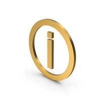 Symbol Inverted Exclamation Mark Gold PNG & PSD Images