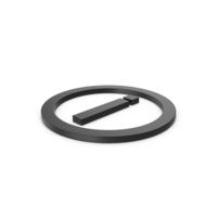 Black Symbol Inverted Exclamation Mark PNG & PSD Images