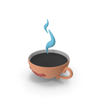 Cartoon Coffee PNG & PSD Images