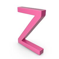 Letter Z Pink PNG & PSD Images