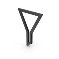 Symbol Funnel Black PNG & PSD Images