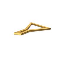 Gold Symbol Funnel PNG & PSD Images
